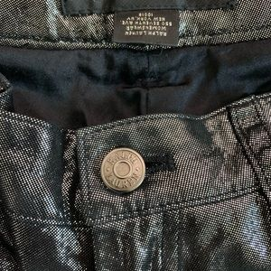 Ralph Lauren Black Label Pants - Ralph Lauren Black Label Suede Metallic  Pants